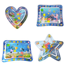 Toys Play-Mat Center Activity Tummy Time Water Inflatable Baby Babies Toddler Infant