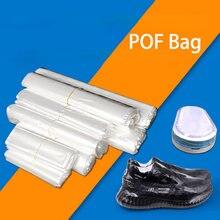 POF – sacs transparents Film rétractable, sac cadeau, emballage de cosmétiques, Film de savon, bombe de bain, bricolage artisanat emballage de livre