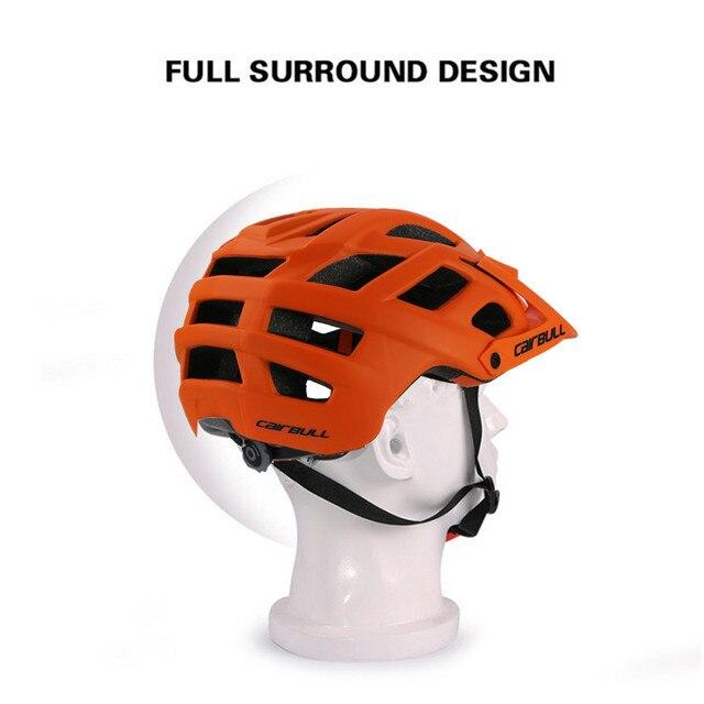 Cairbull ciclismo capacete trilha xc bicicleta capacete in-mold mtb bicicleta capacete casco ciclismo estrada montanha capacetes de segurança boné 55-61cm 5