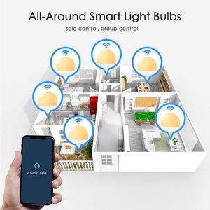 Image 2 - 15W E27 LED ampul eşit 100W akkor lamba WiFi kontrolü akıllı ev ampul uyumlu Alexa ve Google asistan
