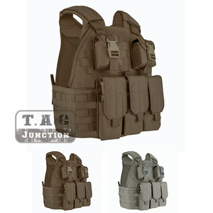 Image 1 - Emerson Tactical Compact Vest SPC Style High Speed Plate Carrier Adjustable Vest w/ Triple For M4 M16 Magazine Mag Pouch