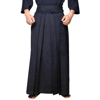 Japonia Kendo Aikido Hapkido odzież sportowa odzież sportowa Hakama dla mężczyzn kobiety odzież tradycyjna-wysoka jakość tanie i dobre opinie Troczek COTTON martial arts clothing Dobrze pasuje do rozmiaru wybierz swój normalny rozmiar Sukno Navy blue white black