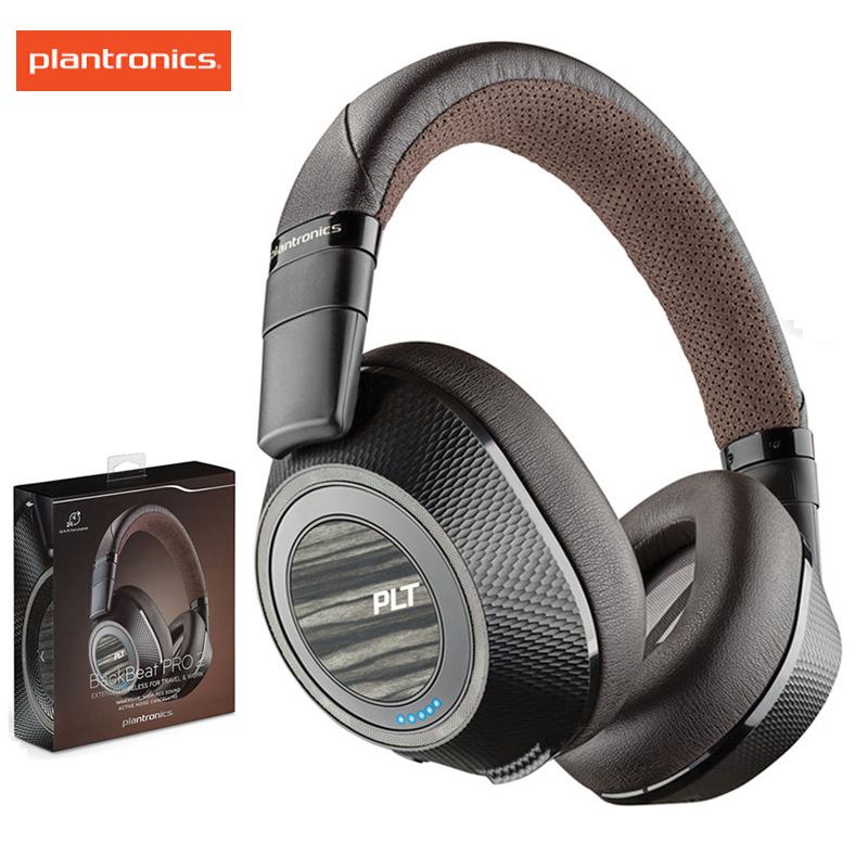 Plantronics Backbeat Pro 2 Wireless Noise Canceling Headphones Mic With Rich Immersive Audio Bluetooth Earphone For Xiaomi Bluetooth Earphones Headphones Aliexpress