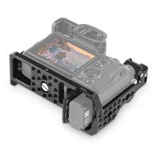SmallRig A73 Cage A7R3 / A7RIII / A7III Camera Cage for Sony A7R III / A7M3/ A7 III W/ Arri Locating / 4/1 8/3 Threads hole 2087