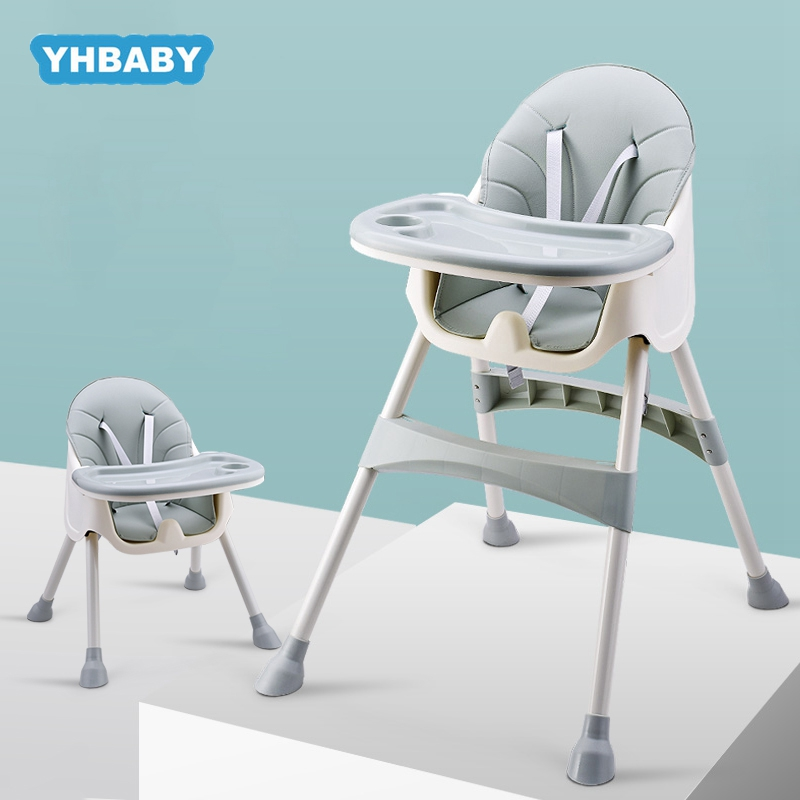 Russian Free Shipping Highchair Baby Chair Booster Seat Children Adjustable Folding Chairs Kids Baby Eating Seats