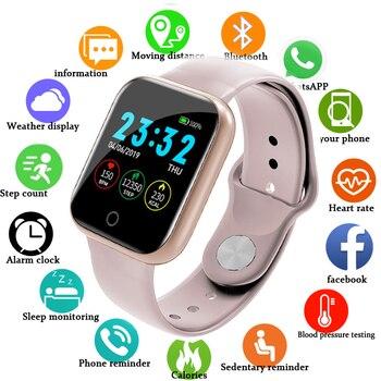 цена на I5 Smart Watch Waterproof Smart Watch Sports Heart Rate Smartwatch I5 Montre Connect Reloj I5 Inteligente Mujer IOS Watchs Smart