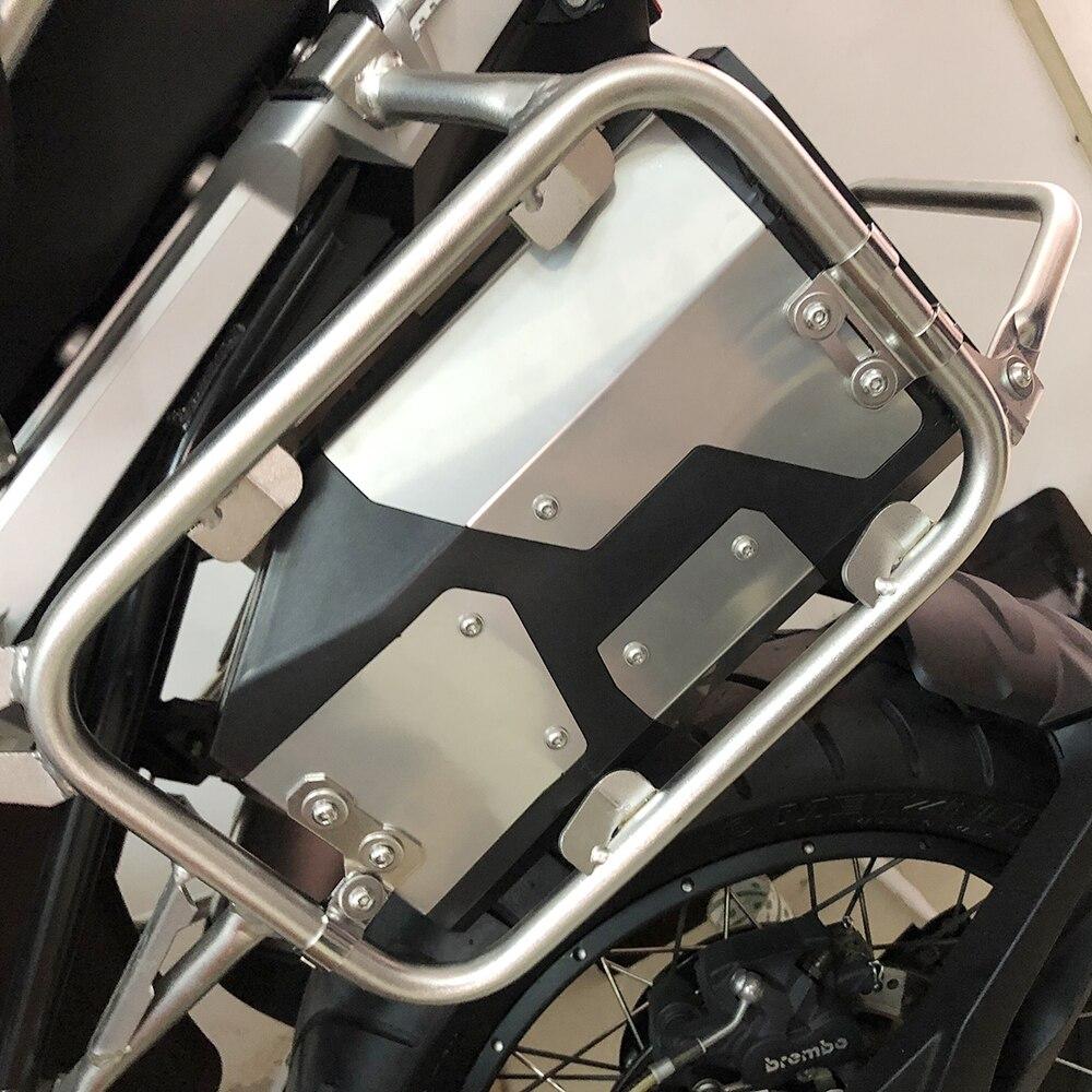 Boîte d'accessoires de moteur support latéral gauche boîte en aluminium pour BMW R1250GS R1200GS LC & Adventure 2002 2008 2018 outil de moto - 5