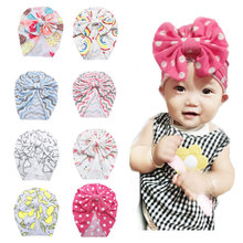 Baby Headband Infant Turban Knot Headbands Accessories Cotton baby hat Head Wrap Headwear For Girls Faixa Cabelo Para Bebe