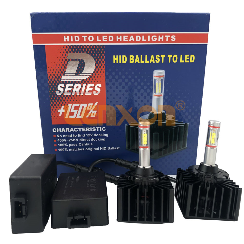 Fcactory new D1S LED bulb D3S D2R D2S D4S D5S D8S car headlight 35W 4000Lm plug-and-play non-destructive installation