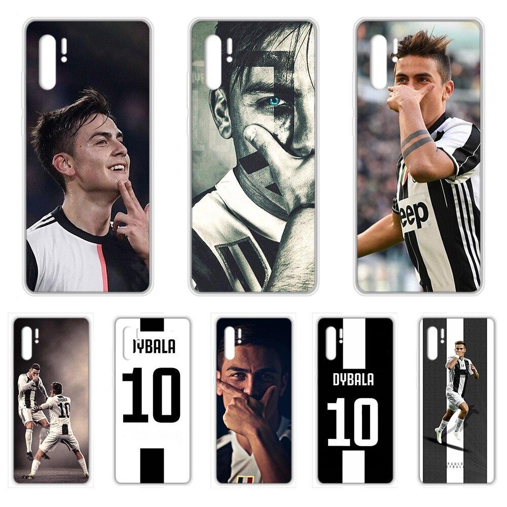 Paulo Dybala argentyna piłka nożna gwiazda telefon skrzynki pokrywa dla HUAWEI nove 5t p 8 9 10 20 30 40 P pro Smart 2017 2019 Z lite