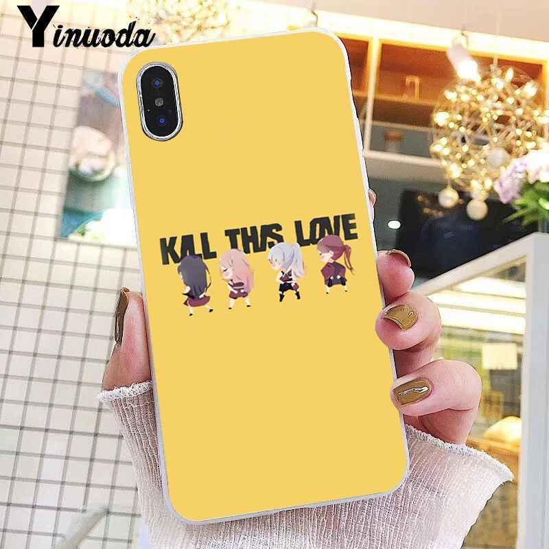 Yinuoda Blackpink kill this love KPOP Coque Shell чехол для телефона iPhone 8 7 6S Plus X XS MAX 5 5S SE XR 10 чехол 11 pro max