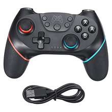 купить for Nintend Switch Pro NS-Switch Pro Game Console Gamepad Wireless-Bluetooth Gamepad Game joystick Controller with 6-Axis Handle дешево