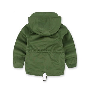 Image 3 - Benemaker Children Winter Outdoor Fleece Jackets For Boys Clothing Hooded Warm Outerwear Windbreaker Baby Kids Thin Coats YJ023