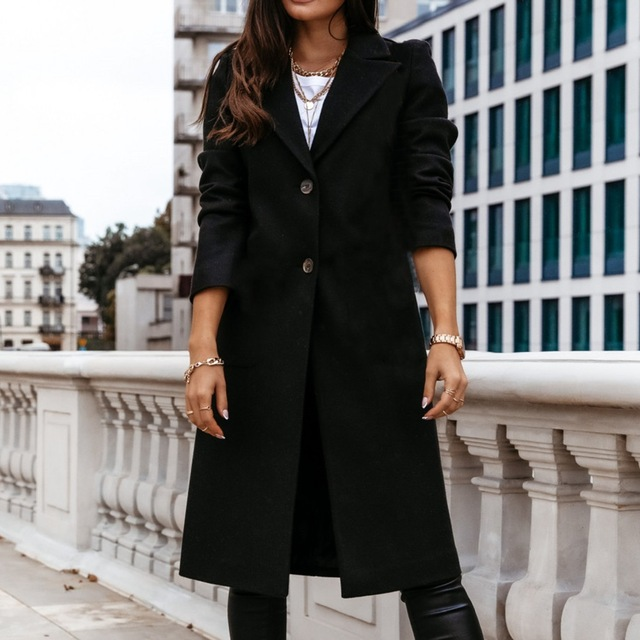 Down Collar Trench Coat 6