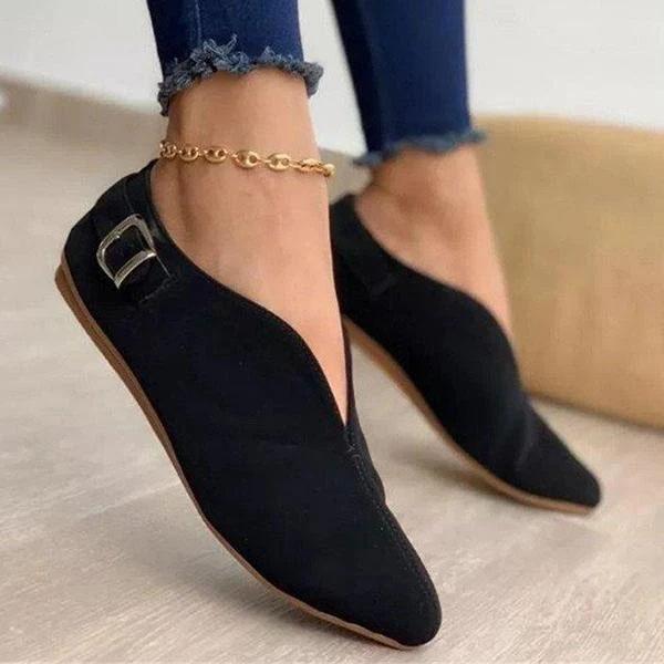 Women Summer Fashion Sweet Flat Casual Shoes  2