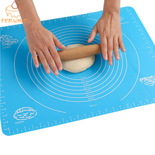 Dough-Cutter Silikon-Pad Baking-Mats Get 1 for Rolling with Measurements 213 Buy