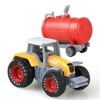 Mini Alloy Diecast Car Model Engineering Toy Vehicles Dump Truck 5