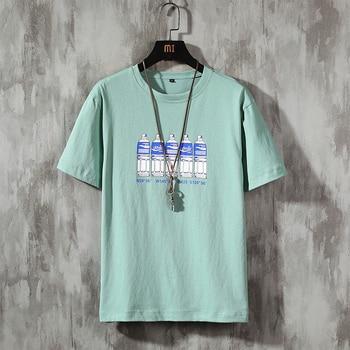 cotton men tshirt male summer loose funny t-shirt tee shirt men you print  t shirt short sleeves tops men dog print tee
