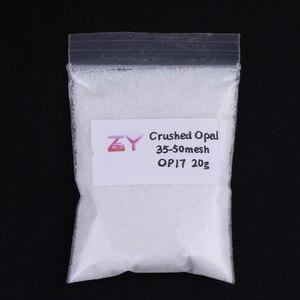Image 3 - (5 г/лот) оптовая продажа опаловых Раздавленных/синтетических бритв/OP17 белых бриллиантов