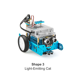Image 4 - Makeblock Pack de complementos para Robot Servo cat, diseñado para mBot, Pack de complementos de Robot 3 en 1, 3 + formas