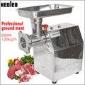 Мясорубка XEOLEO  электрическая мясорубка для сосисок  Шредер из нержавеющей стали для кухни и дома  коммерческий измельчитель мяса