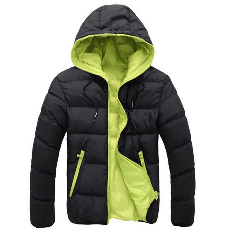 Puimentiua 2019 Winter Jacket Men's High Quality Thick Warm Down Jacket Men Brand Coat Men Snow Parkas Coats Warm  Outerwear