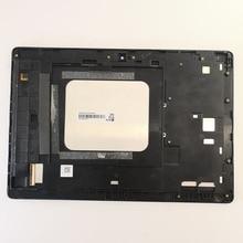 Universal lcd screen display toque digitador assembléia para asus zenpad z300m p00c z300cnl p01t z301m z301ml p028 com quadro