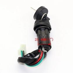 Ignition Key Lock Switch 4 Wire Fits For 50-250cc Mini Quad ATV Dirt Bike