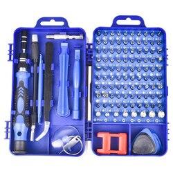 115 w 1 zestaw wkrętaków śrubokręt magnetyczny Torx Multi narzędzia do naprawy telefonów zestaw urządzeń elektronicznych narzędzi ręcznych