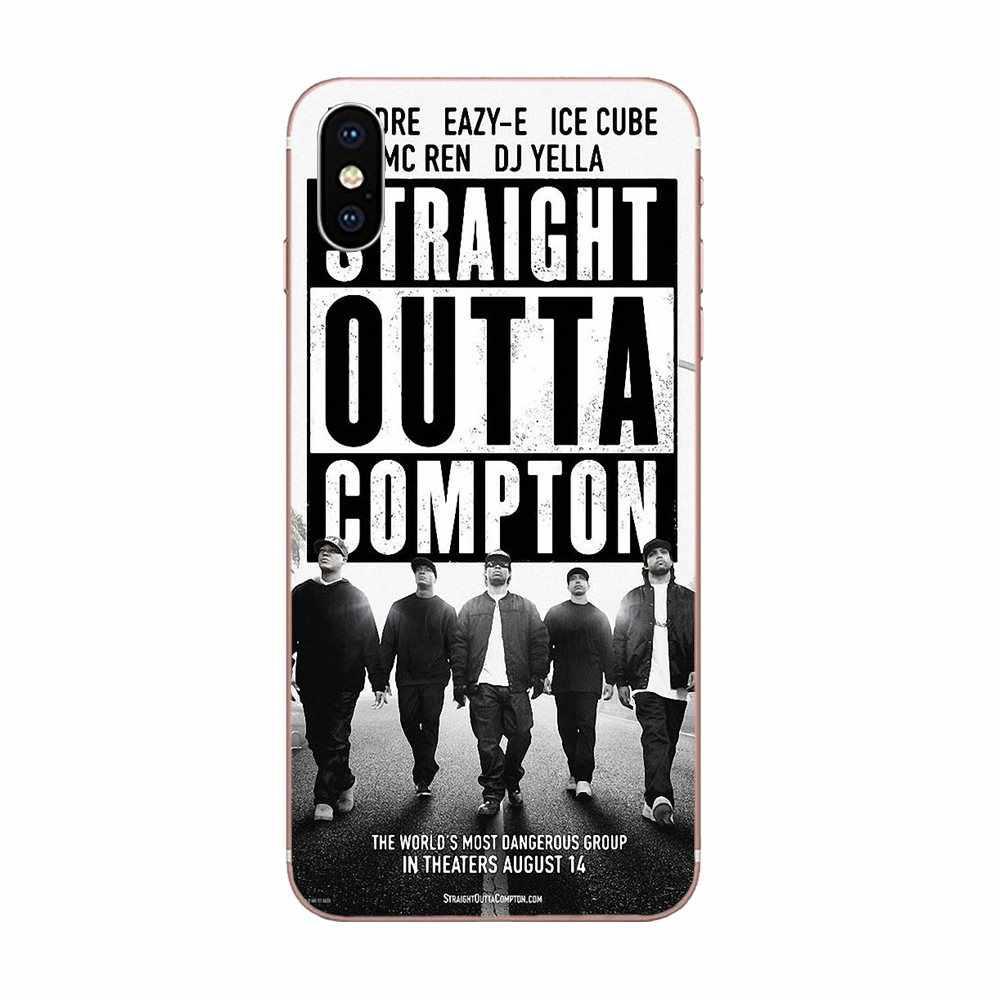 ICE Cube amerikkkas Most Wanted NWA Flip Teléfono Estuche Cubierta para iPhone Samsung