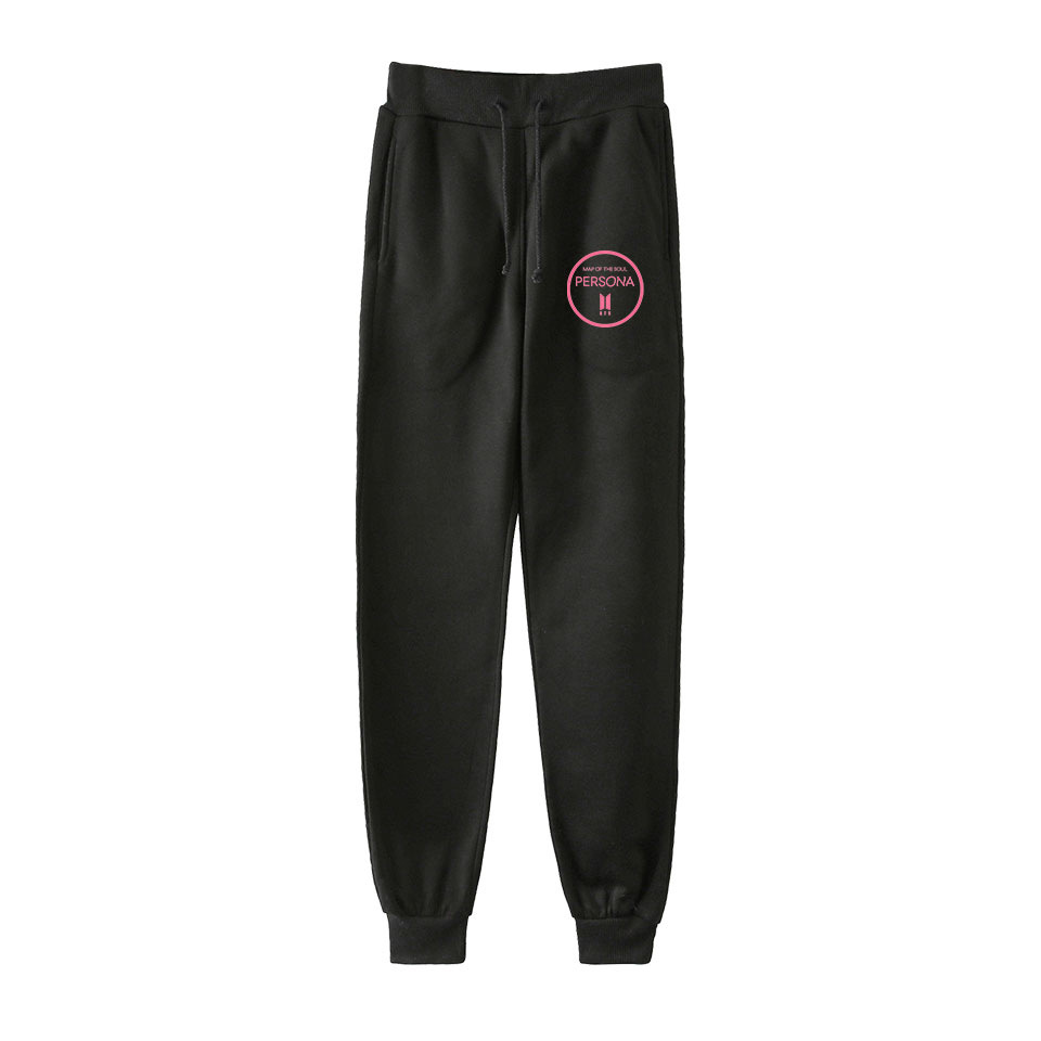 Cross Border For BTS Map Of The Soul Persona Bulletproof Boys Related Products Fashion Ankle Banded Pants