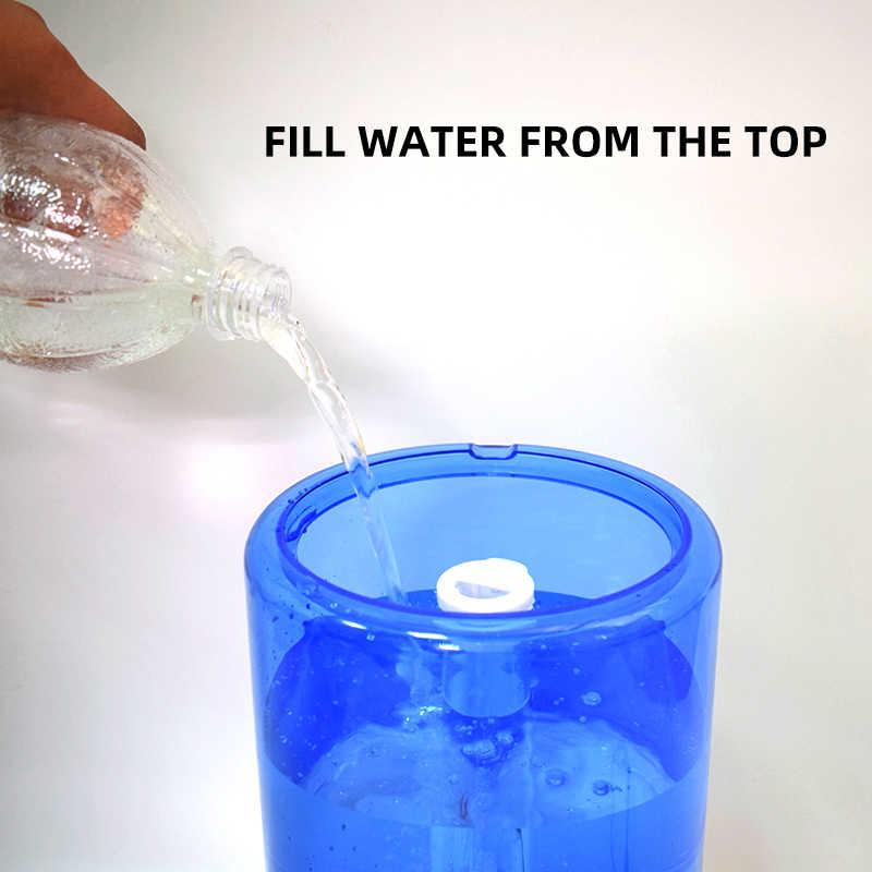 3.5L hava ultrasonik nemlendirici üst su dolum Led gece lambası aromaterapi uçucu yağ Aroma YAYICI kullanarak ev ofis için