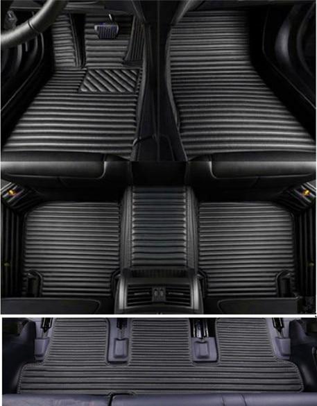 ALLYARD Alfombrillas Coche para Mer cedes-Ben z CLA Class 180 200 220 260 AMG 2014-2017 XPE Cuero Alfombra de Coche Antideslizantes Impermeable autom/óviles Alfombrilla Beige