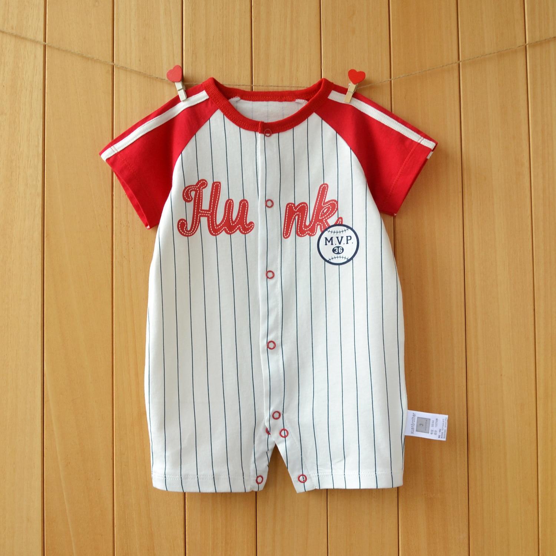 Для малышей, новорожденных летняя одежда летние хлопковые футболки с короткими рукавами для мальчиков; Одежда для мальчиков восхождение од...