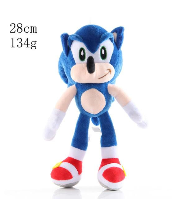 2020 18 30cm Newest Anime Super Sonic Plush Toys The Hedgehog Tails Ultimate Flash Fox Plush Toys Cute Stuffed Animals Aliexpress