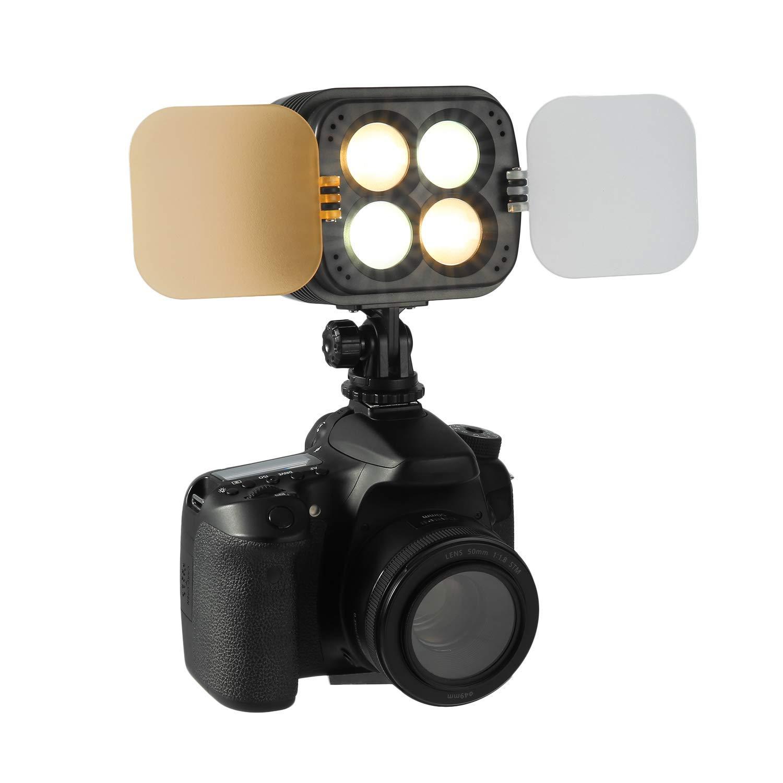 Tüketici Elektroniği'ten Fotoğraf Aydınlatma'de 2800LM stüdyo LED Video ışık iki renkli ve kısılabilir lamba Canon Nikon Sony DSLR için kamera kamera title=