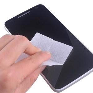 Image 2 - 740 Uds húmedo toallitas de limpieza secas paño toallitas de Alcohol para Protector de pantalla de vidrio templado de la Lente de la Cámara pantallas LCD eliminación de polvo toallitas