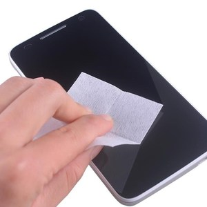 Image 2 - 740Pcs Wet Dry Cleaning Wipes Cloth Alcohol Wipes for Tempered Glass Screen Protector Camera Lens LCD Screens Dust Removal Wipes
