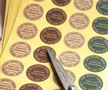 160PCS/Lot Vintage pattern DIY Multifunction Round Seal Sticker with Special Select Retro Gift & Label