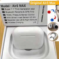 New Original Air3 Max TWS Wireless Bluetooth Earphone in-ear Earbuds Pressure Sensor PK H1 Chip i9000 tws i90000 Max i900000 Pro