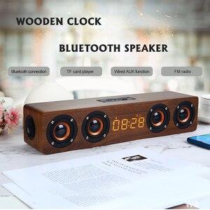 Wooden Wireless Bluetooth Spea