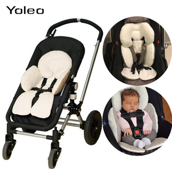 цена на Baby Infant Toddler Stroller Pad Head Support Body Support for Car Seat Troller Chair Cushion Car Seat Cover Neck Protection Pad