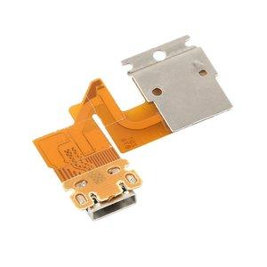 Chegada nova flex cabel cabo de carregamento usb conector porto para sony xperia tablet z sgp311 sgp312 sgp321 transporte da gota