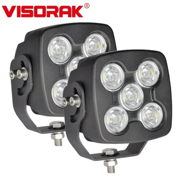 "VISORAK 5"" 75W Offroad SUV LED Work Light Truck 4x4 4WD ATV LED Light For Jeep 4WD 4x4 Off-road ATV SUV Car"