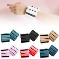 Ankle Weight Ring for Fitness Crossfit Rings Weight Feet Walking Weight Bearing Bracelet Jogging Gymnastics Supplies