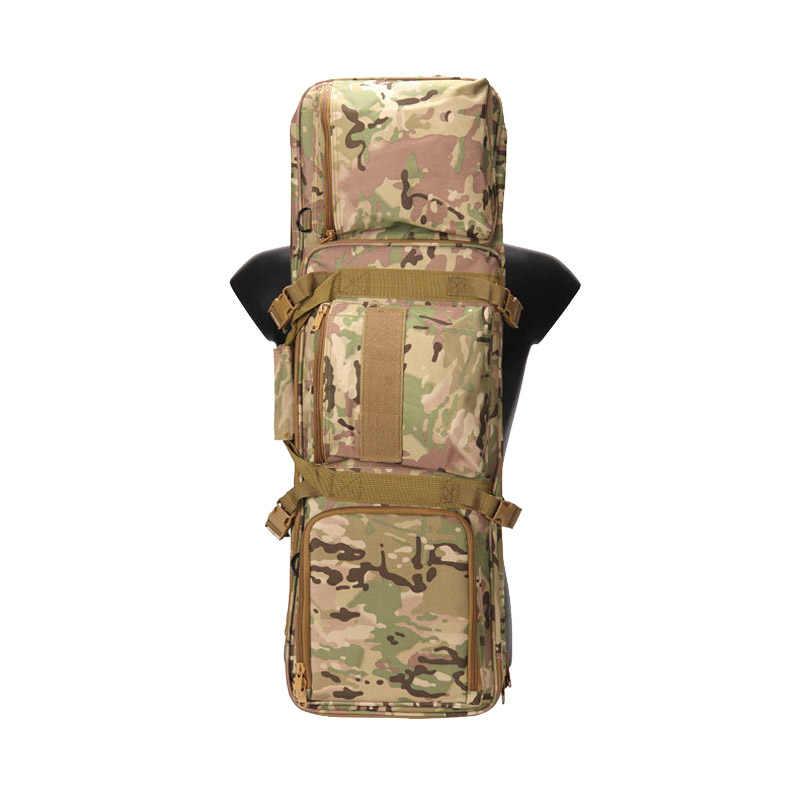 Taktik Silah Çantası 85cm Airsoft Tüfek Taşıma Tabancası Çantası Avcılık Aksesuarları Çantası Omuz Çantası Askeri Çekim Koruyucu Sırt Çantası