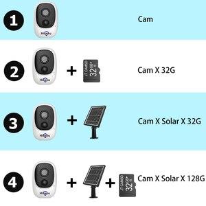 Image 5 - Hiseeu 1080P اللاسلكية بطارية قابلة للشحن كاميرا IP مع الطاقة الشمسية في الهواء الطلق مانعة لتسرب الماء كاميرا مراقبة للمنزل واي فاي مراقبة الطفل PIR