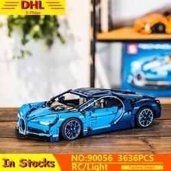 20086 Technic Car Series Supercar Bugattis Model Building Blocks Bricks Sets Kids Toys Compatible LepinINGs 42083 Assembly Gifts
