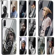 ASAP Rocky Rapper Tempered Glass phone case for Xiaomi 5X 6X 8 Lite 9 A1 A2 F1 Redmi 4X 6A Note 5 6 7 pro