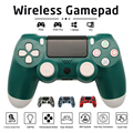 PS4 Controller Manette Mando Controle Wireless Bluetooth 6-Axis Gamepad For PS 4 Pro PSTV PC IPAD Laptop Mobile Phone